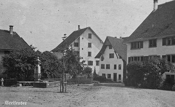 Das Meisterhaus vom Städtli her aufgenommen.